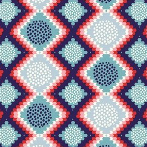 Native geometric pattern