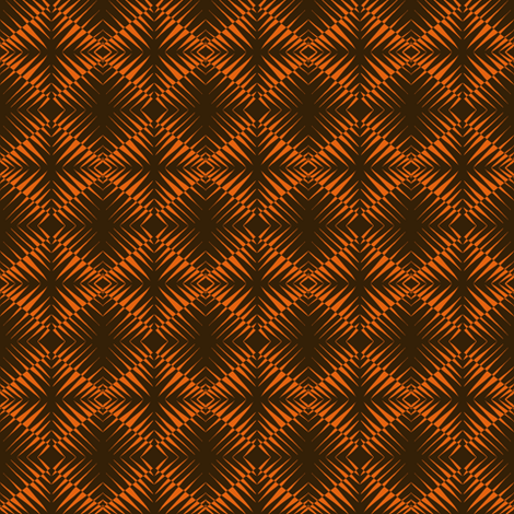 Tiger Stripes Shimmer fabric by eve_catt_art on Spoonflower - custom fabric