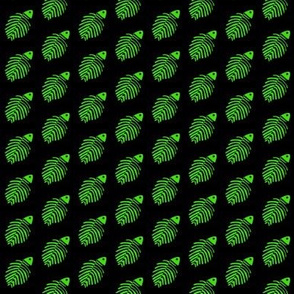 Fish Bones Green