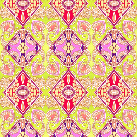 Squaresville Paisley-O fabric by edsel2084 on Spoonflower - custom fabric