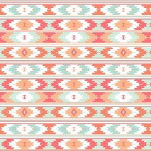 coral kilim // small