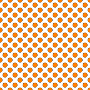 Orange Dots Small 1