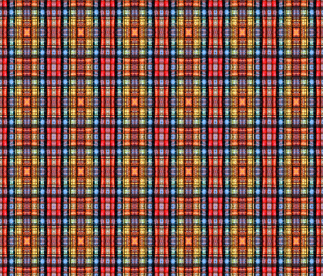 Tiny Tales Plaid fabric by whimzwhirled on Spoonflower - custom fabric