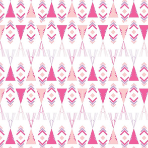 Wigwam pinks and purple