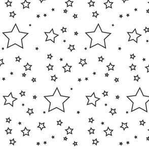 Stars_black_and_white