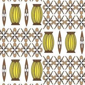 Lanterns and Leis White