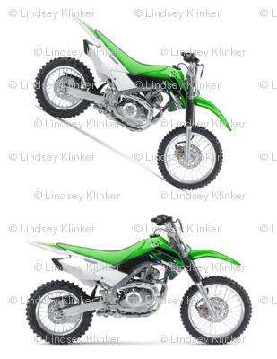 Motocross Green Dirt Bikes