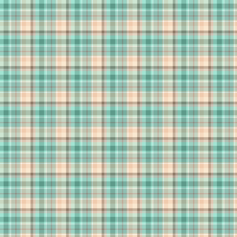 Marina Plaid Small  fabric by kiniart on Spoonflower - custom fabric