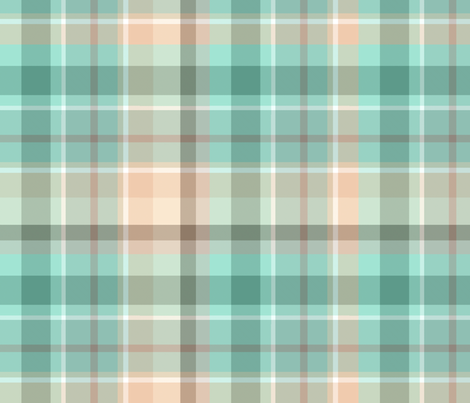 Marina Plaid LG fabric by kiniart on Spoonflower - custom fabric