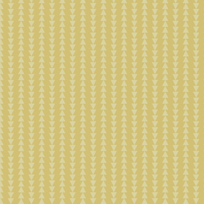 Tribal Triangles-Antique Yellow-Tonal