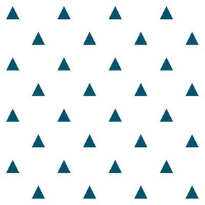 Navy Triangles - Small