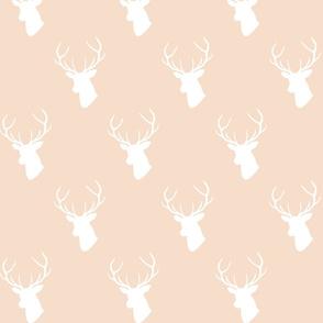 Pale Blush Deer