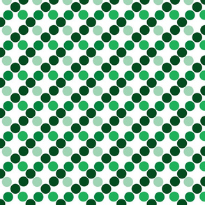 spotty_color- green monochrome