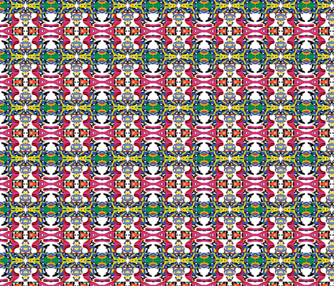 tribal 4 fabric by kociara on Spoonflower - custom fabric