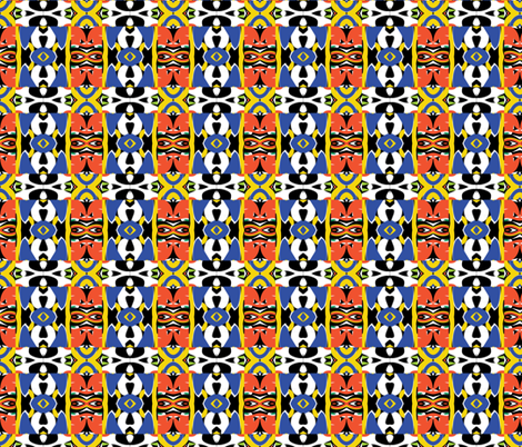 tribal 11 fabric by kociara on Spoonflower - custom fabric