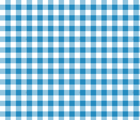 Willow Blue 2 Checks fabric by anniedeb on Spoonflower - custom fabric