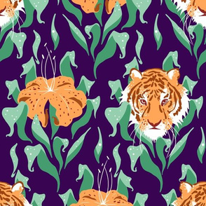 Tiger Lily Damask