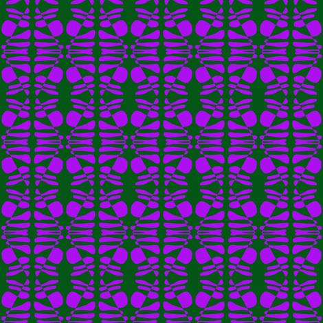 Watchers Purple fabric by eve_catt_art on Spoonflower - custom fabric