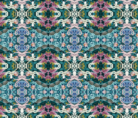 underwater 2 fabric by kociara on Spoonflower - custom fabric