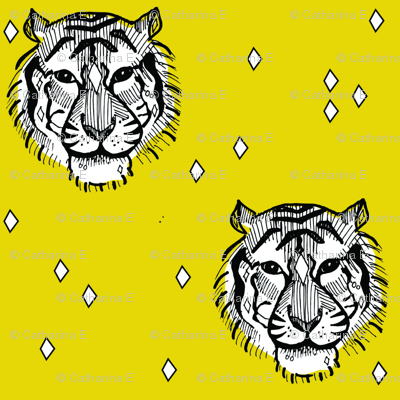 mustard tiger - elvelyckan
