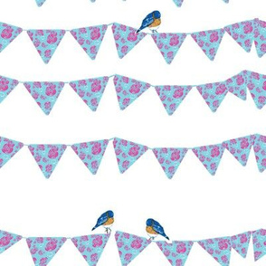 Bunting and Bluebirds-ch