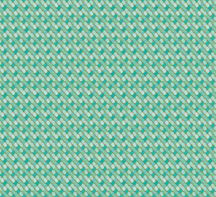 Sea Green Mermaid Tail Small (Vertical) fabric by katebillingsley on Spoonflower - custom fabric