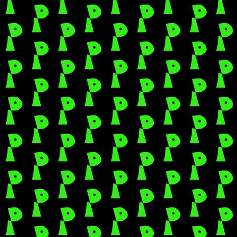 Black Eyed Peas fabric by eve_catt_art on Spoonflower - custom fabric