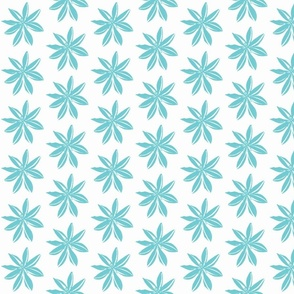 Romulea aqua on white--ch
