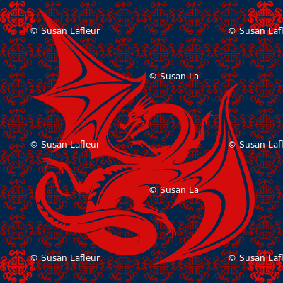 Red Dragon -navy