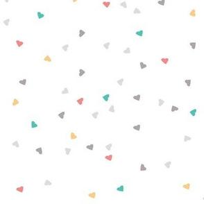 Confetti Hearts- Multicolour