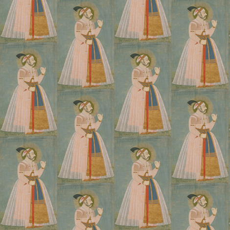 Amar-Singh-II fabric by susaninparis on Spoonflower - custom fabric