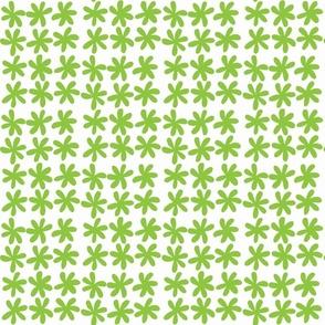 Spring flower light green