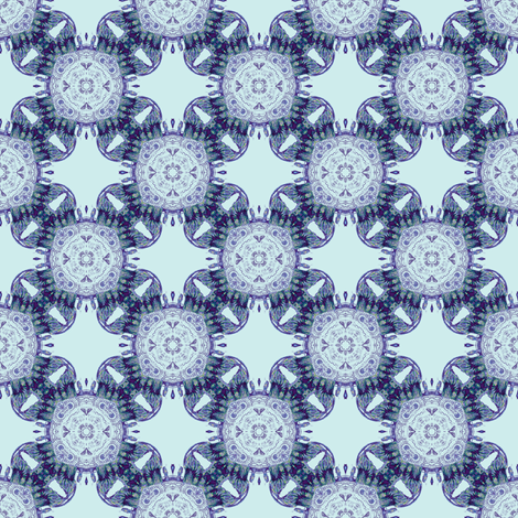 modern day dog tooth  fabric by arrpdesign on Spoonflower - custom fabric