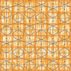 Orange-Celtic-Leaf-Plaid