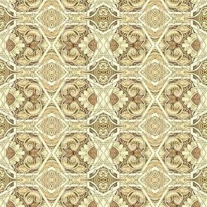 Hexagon Gone Ivory