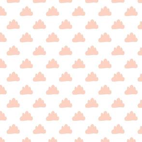 The cloud small- peach