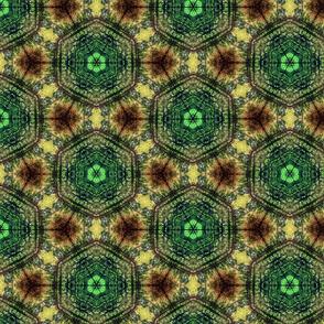 kaleidoscope_print_green