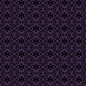 purple block print