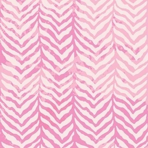 herringbone tweed pink water colour