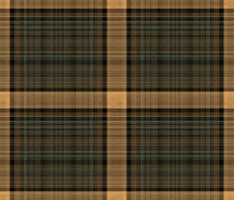 Plaid of Books Unchained fabric by anniedeb on Spoonflower - custom fabric