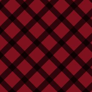 Red Diamond Plaid