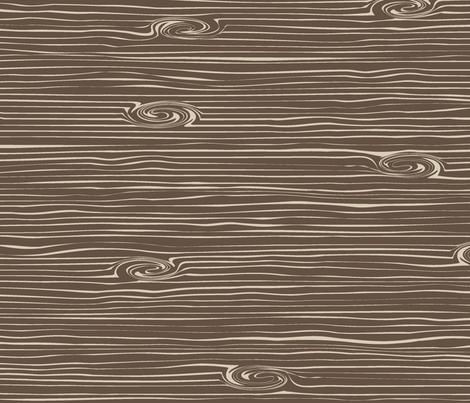 Woodgrain // Brown&Tan fabric by littlearrowdesign on Spoonflower - custom fabric