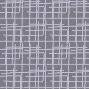 Weave woven pattern, purple lavender mauve