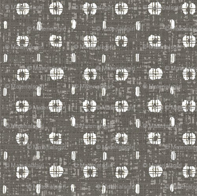 Pods - taupe/grey and white