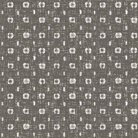 Pods - taupe/grey and white fabric by materialsgirl on Spoonflower - custom fabric
