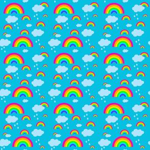 rainbow_fabric_design_turquoise_back_pink_rainbows