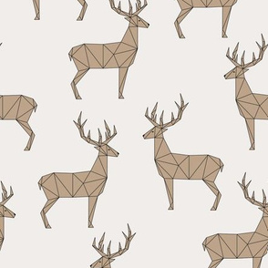 Deer - Light Beige Brown