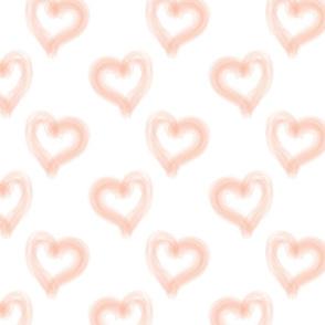 The heart- peach