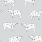 Polar Bear - Gray