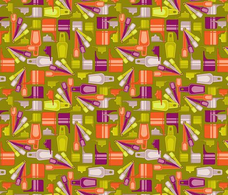 Fantastic plastics fabric by cjldesigns on Spoonflower - custom fabric